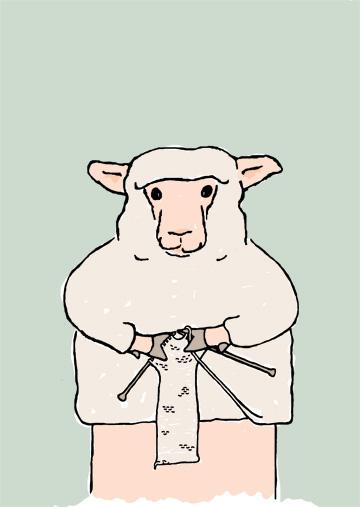 knitting sheep blog 2
