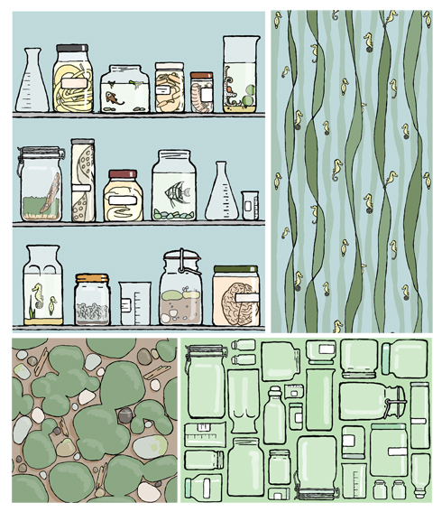 natural science geek collection blog