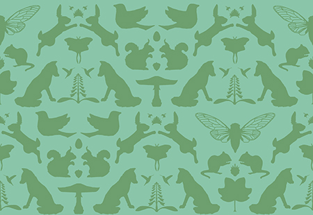 woodland wallpaper for blog